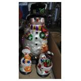 LOT - Snowman Figures and Ornaments