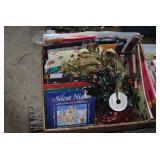 LOT-2Bxs Christmas Cards, Books, Wrap, GiftBags