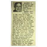 "Van Briggle 6"" vase newspaper clipping"