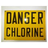 Danger Chlorine - porcelain