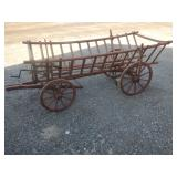 Goat wagon