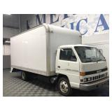 Isuzu NPR Diesel Box Van - Manual
