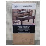Mainstays Espresso Lift-Top Coffee Table