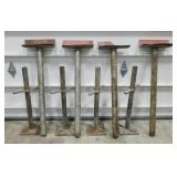 (4) Ceiling/Floor Jacks-Supports