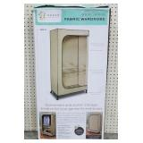 """Order Home Collection 65"""" Rolling Fabric Wardrobe"""