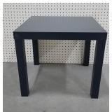 "Parsons Black End Table (20""x20""x17.5"")"