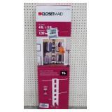 ClosetMaid Basic Closet Organizer (Fits 4ft-9ft)