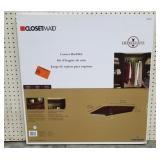 ClosetMaid Dark Cherry Corner Shelf Kit