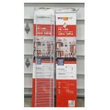 (2) ClosetMaid Fixed Mount Closet Organizer Kits