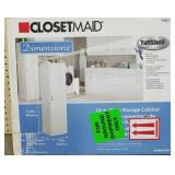"ClosetMaid Storage Cabinet (18""x18.63""x71.75"")"