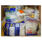 Box of Assorted Tile Levelers & Spacers