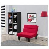DHP Black Micro Fiber Chair