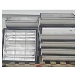 """(12) Commercial Ceiling Lights (24""""x24"""
