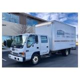 2002 Chevrolet/ Isuzu W5500 Box Van - 150K Miles