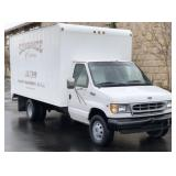 2002 Ford E-350 Box Truck - 137K Miles