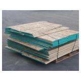 Pallet of Asst. Plywood