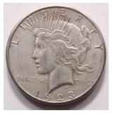 1923 Silver Liberty Peace Dollar