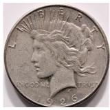 1926 Silver Liberty Peace Dollar