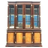 "2 Piece Hutch Dimensions 64""x17""x83"""