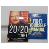 "Dr. Phil Books, ""Fix It Yourself"" & ""20/20 Diet"""