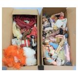 (2) Boxes Filled With Doll Parts & More
