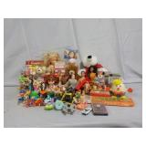 Toys Including Barbies, Slot Machines, & More