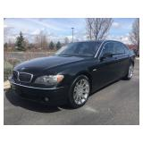 2006 BMW 750Li - Black Beauty - Fully Loaded