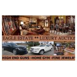 Special Wed Apr 24th - 6pm - Eagle Estate Luxury Auction