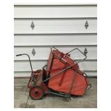 Wheel Horse Lawn Sweeper