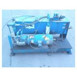 Blue Hydraulic Pump