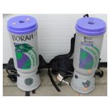 (2) Super Coach Pro Team Back Pack Vacuums