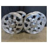 "Set Of 4 Chevy Rims 19"" Including Rim Lip"