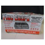 Flue Guard Spark Arrestor Chimney Cap New In Box