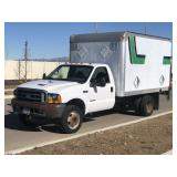 1999 Ford F550 Box Truck -with Lift Gate!