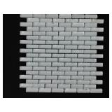 2 1/2 Boxers Gem Stone White Wall Tile