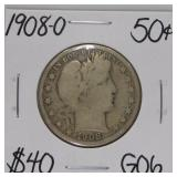 1908 O G06 Half Dollar