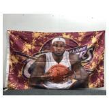 "New ""LeBron James"" Fabric Flag"