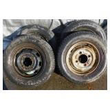 (2) Kumbo 175/70R13 & 2 Euro Winter 175/70R13