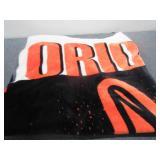 Baltimore Orioles Baseball Blanket- Full