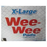 Box Of (75) XL Quilted Pet Wee-Wee Pads