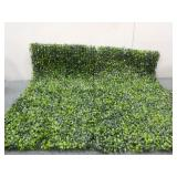 Box Of Artificial Boxwood Hedge Panel- Size:
