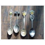 (4) Collector Spoons - (1) Venezia