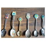 (6) Foreign Country Collector Spoons