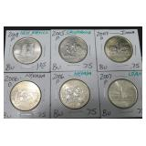 (6) Various State Quarters
