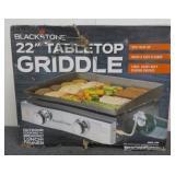 """""""Blackstone"""" 22"""" Tabletop Griddle"""