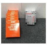 (10) Lift-Off Tape Boxes