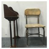 Small Stand & Chair