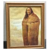 Native American 10 Commandments Painting