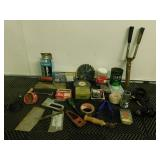 Assortment Of Household Supplies, Wires & More