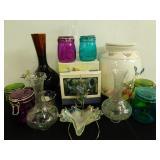 Multi-Colored Mason Jars & Vases